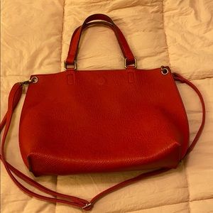 Free People red purse